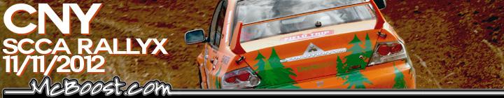 CNY SCCA RallyCross 11-11-12