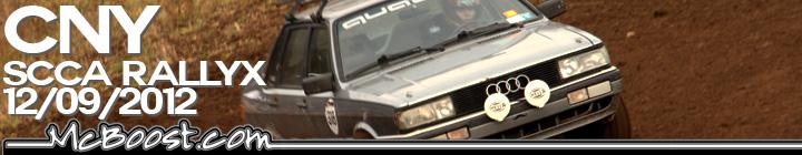 CNY SCCA RallyCross 12-09-12