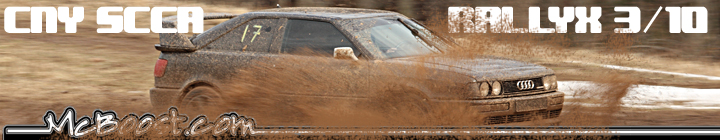 CNY SCCA RallyCross 3-10-13