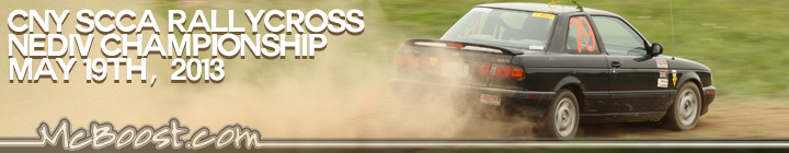 SCCA NEDIV Championship (Part 2) RallyCross 5-19-13