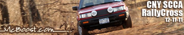 CNY SCCA RallyCross 12-11-11!