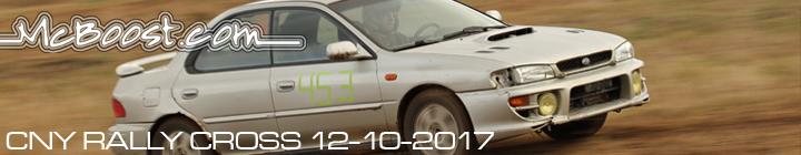 CNY SCCA RallyCross 12-10-17!!