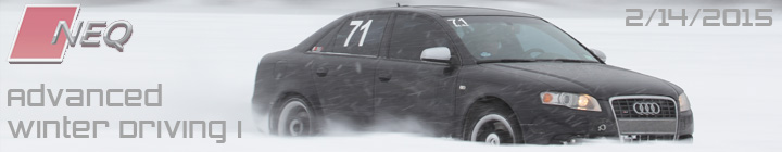 North East Quattro, NEQ Advanced Winter Driving I 2/14/2015